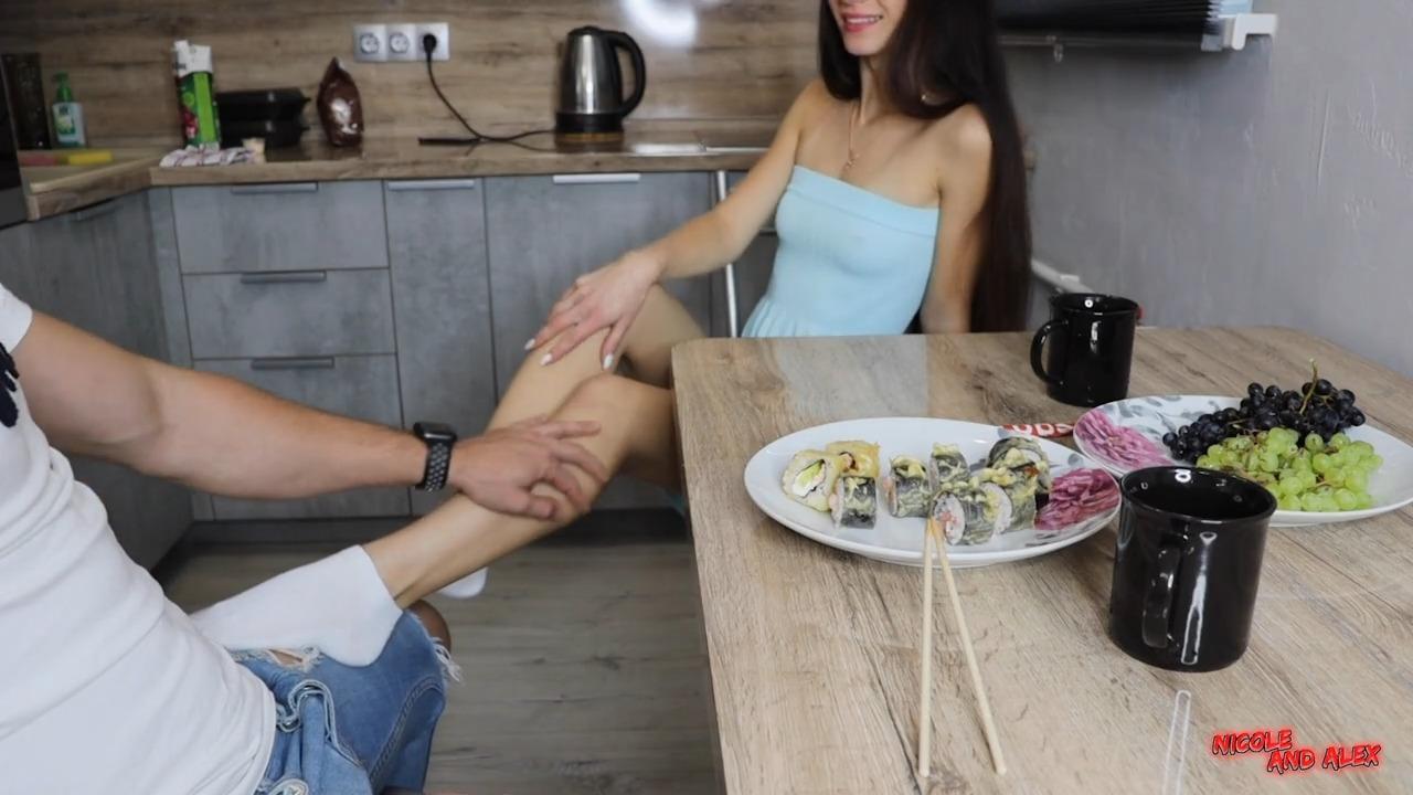 Русский секс с бывшей одноклассницей